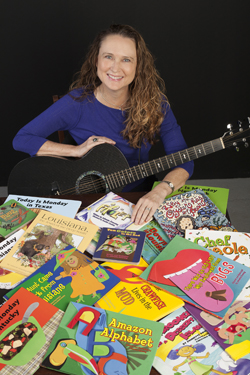 Johnette with her books